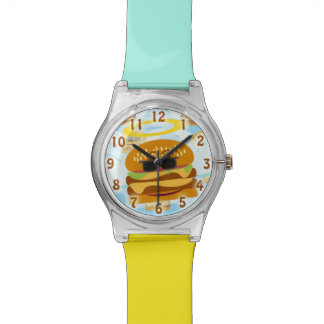Heavenly Cheeseburger Angel Watch