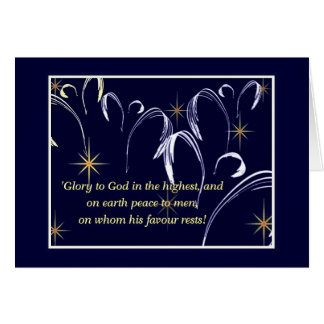 Heavenly chorus card