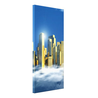 Heavenly City 2-3 Canvas Print