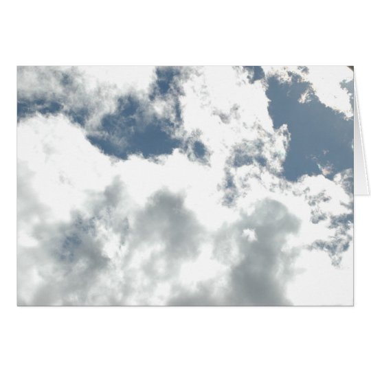 Heavenly Clouds Card