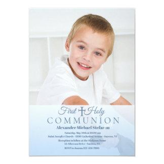 Heavenly Communion Photo Invitation
