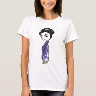 Heavenly Cranes Geisha T-Shirt