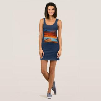 Heavenly Fire Custom Women's Jersey Tank Dress