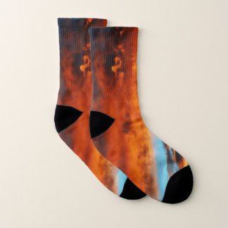 Heavenly Fire Unisex Socks 1