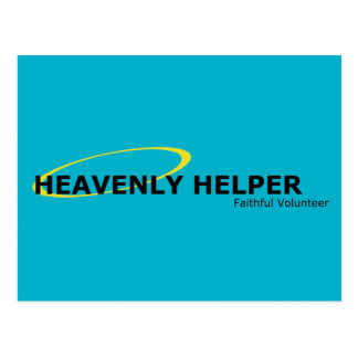 Heavenly Helper Post Card