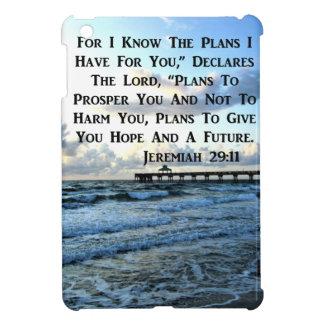 HEAVENLY JEREMIAH 29:11 SCRIPTURE DESIGN iPad MINI CASES