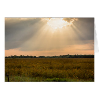 Heavenly Light Card