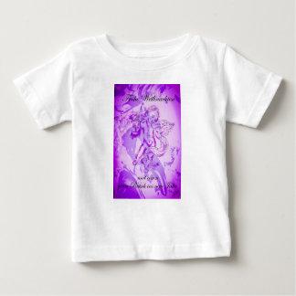 Heavenly music, glad Christmas Baby T-Shirt