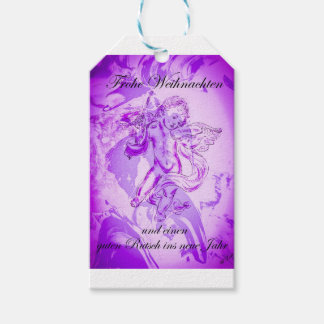 Heavenly music, glad Christmas Gift Tags