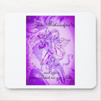 Heavenly music, glad Christmas Mouse Pad