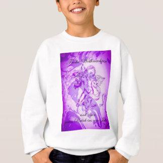 Heavenly music, glad Christmas Sweatshirt