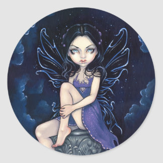 """Heavenly Nightshade"" Sticker"