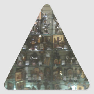Heavenly paraphernalia triangle sticker