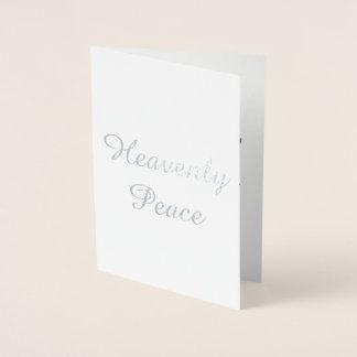 Heavenly Peace Christmas Card