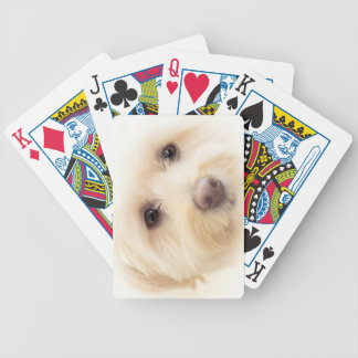 Heavenly Pup Bicycle Playing Cards