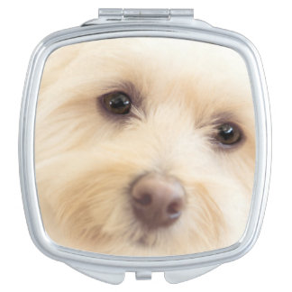 Heavenly Pup Compact Mirror