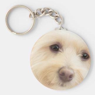 Heavenly Pup Keychain