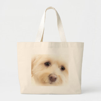 Heavenly Pup Large Tote Bag