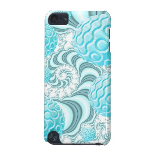 Heavenly Sea Shells, Abstract Pastel Beach iPod Touch 5G Case