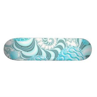 Heavenly Sea Shells, Abstract Pastel Beach Skate Board Deck