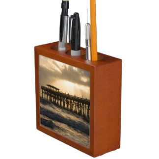 Heavenly Sunrise Desk Organizer