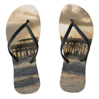 Heavenly Sunrise Flip Flops