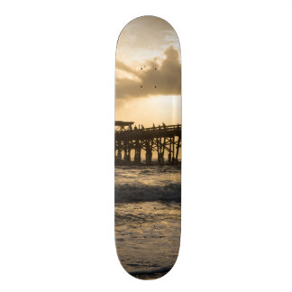 Heavenly Sunrise Skate Board Decks