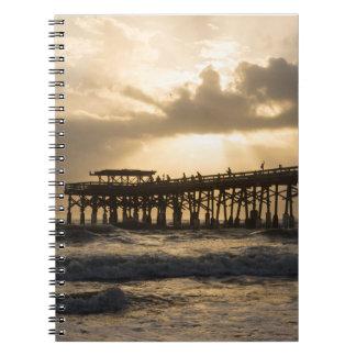 Heavenly Sunrise Spiral Notebook