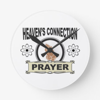 heavens connection round clock