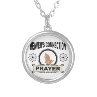 heavens connection silver plated necklace