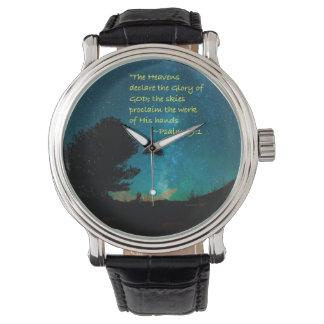 """""""Heavens declare"""" Wrist Watches"""