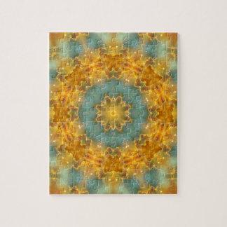 Heavens Flower Mandala Jigsaw Puzzle