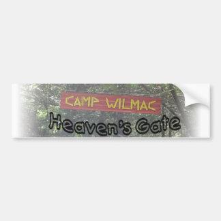 heavens gate bumper sticker