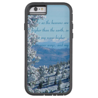 """Heavens Higher""-Mountain iPhone Case"