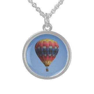 Heavens Quilt Hot Air Balloon Necklace