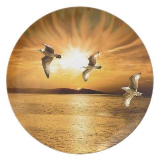 Heavens Wings Plate