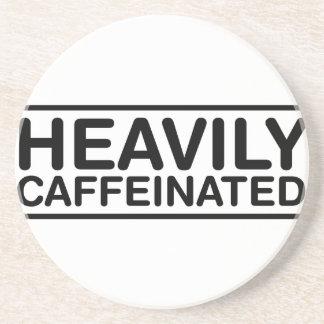 Heavily Caffeinated Coaster