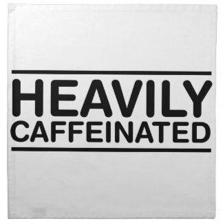 Heavily Caffeinated Napkin