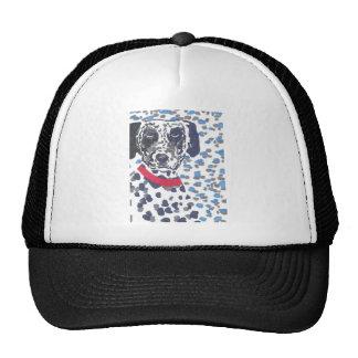 Heavily spotted Dalmatian Trucker Hats