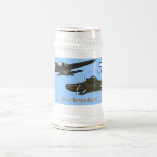 Heavy Bombardment 18 Oz Beer Stein