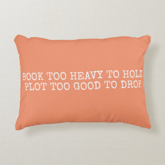 Heavy Book (pillow) Decorative Pillow