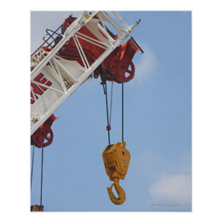 Heavy construction equipment poster