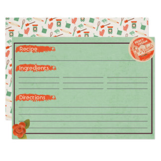 Heavy Cream Recipe Cards