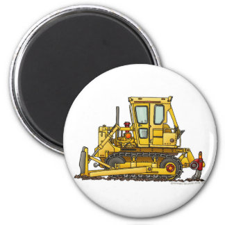 Heavy Duty Bulldozer Dirt Mover Construction Magne 2 Inch Round Magnet