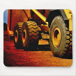 heavy duty construction equipment mouse pad