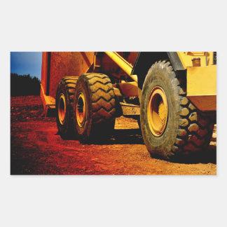heavy duty construction vehicle