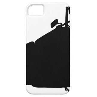 Heavy Duty Motorcycle Silhouette Case For The iPhone 5