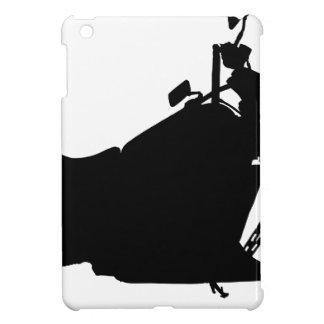 Heavy Duty Motorcycle Silhouette iPad Mini Cover