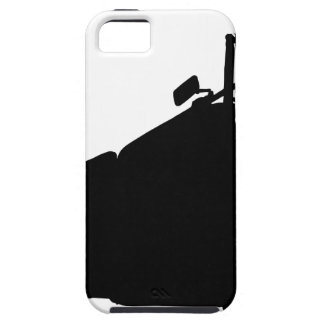 Heavy Duty Motorcycle Silhouette iPhone 5 Cover