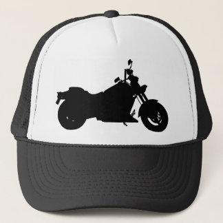 Heavy Duty Motorcycle Silhouette Trucker Hat